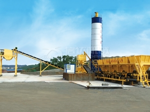 Stationary Stabilized Soil Mixing Plant
